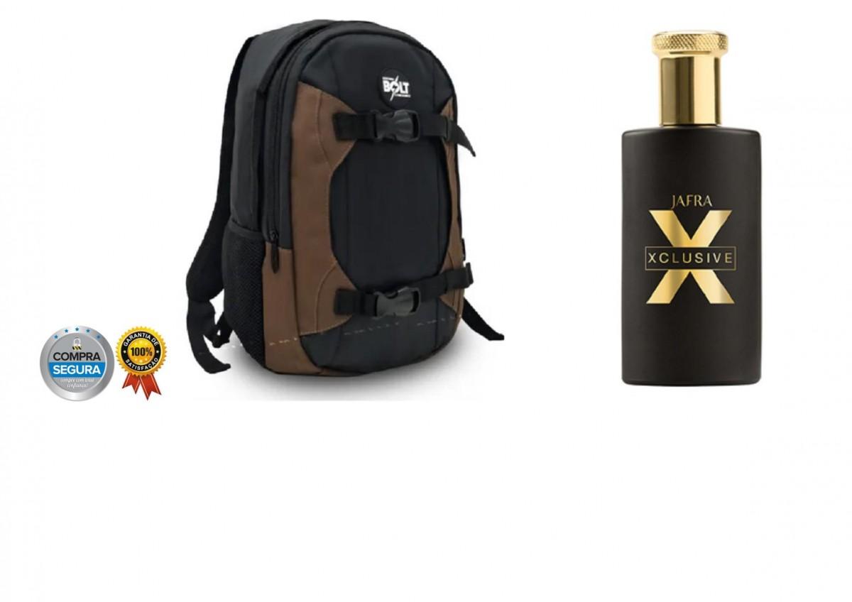 Foto 1 - Perfume Importado Xclusive Masculino + Mochila Esportiva Unisex