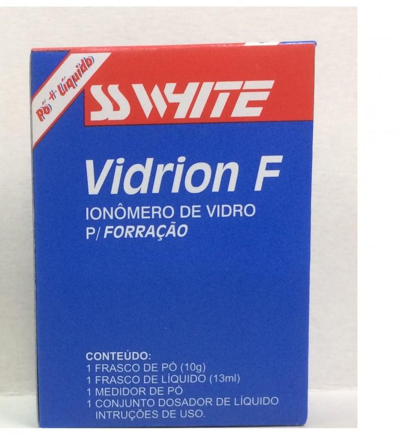 Foto 1 - Ionômero de Vidro Forrador Vidrion F KIT - SS White