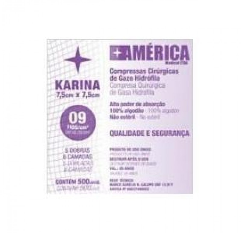 Gaze karina 09 fios c/500