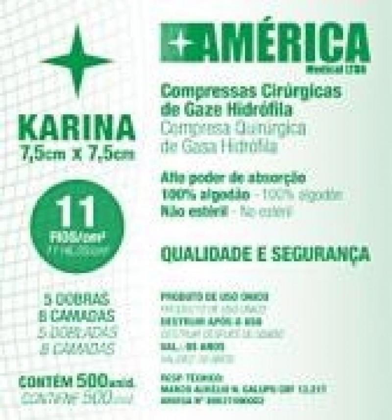 Foto 1 - Gaze karina 11 fios c/500