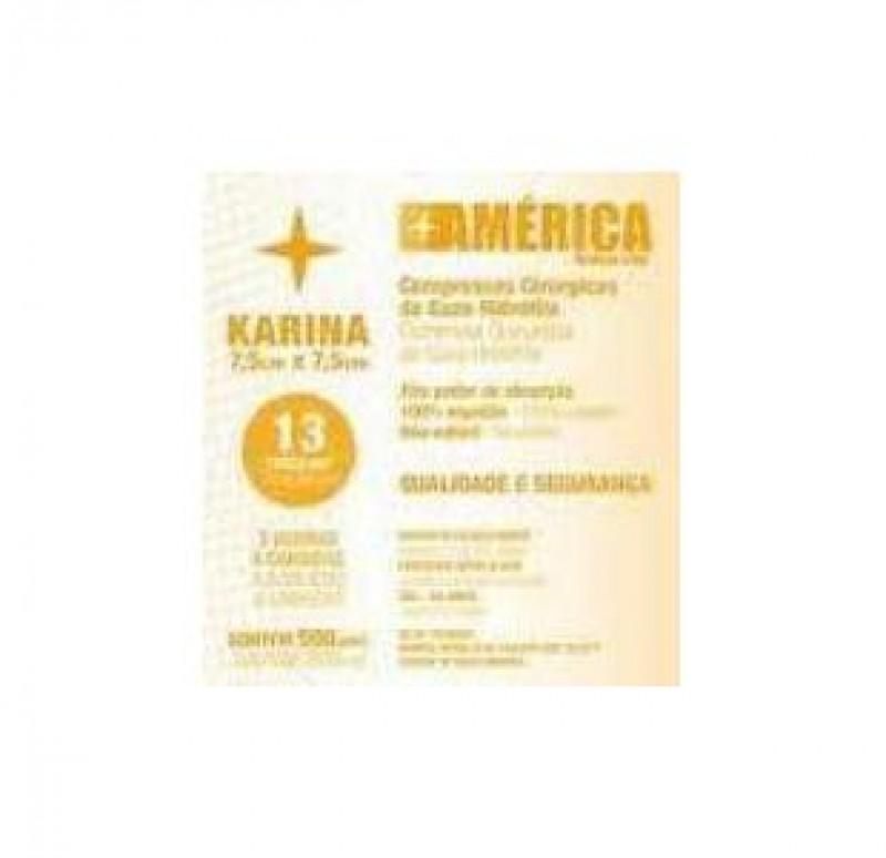Foto 1 - Gaze karina 13 fios c/500