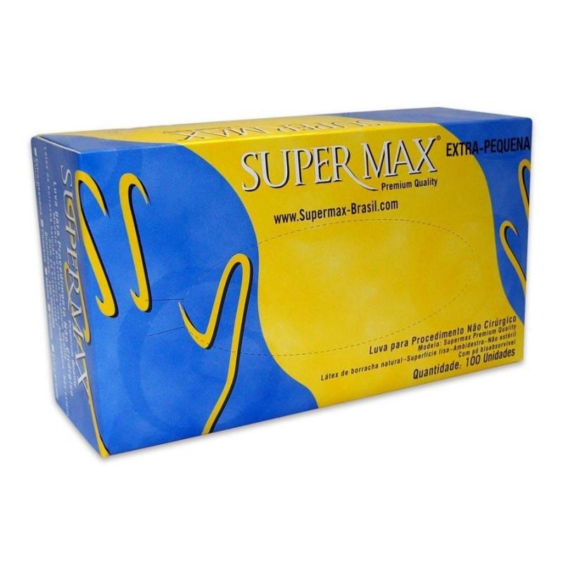 Foto 1 - Luva descartavel supermax