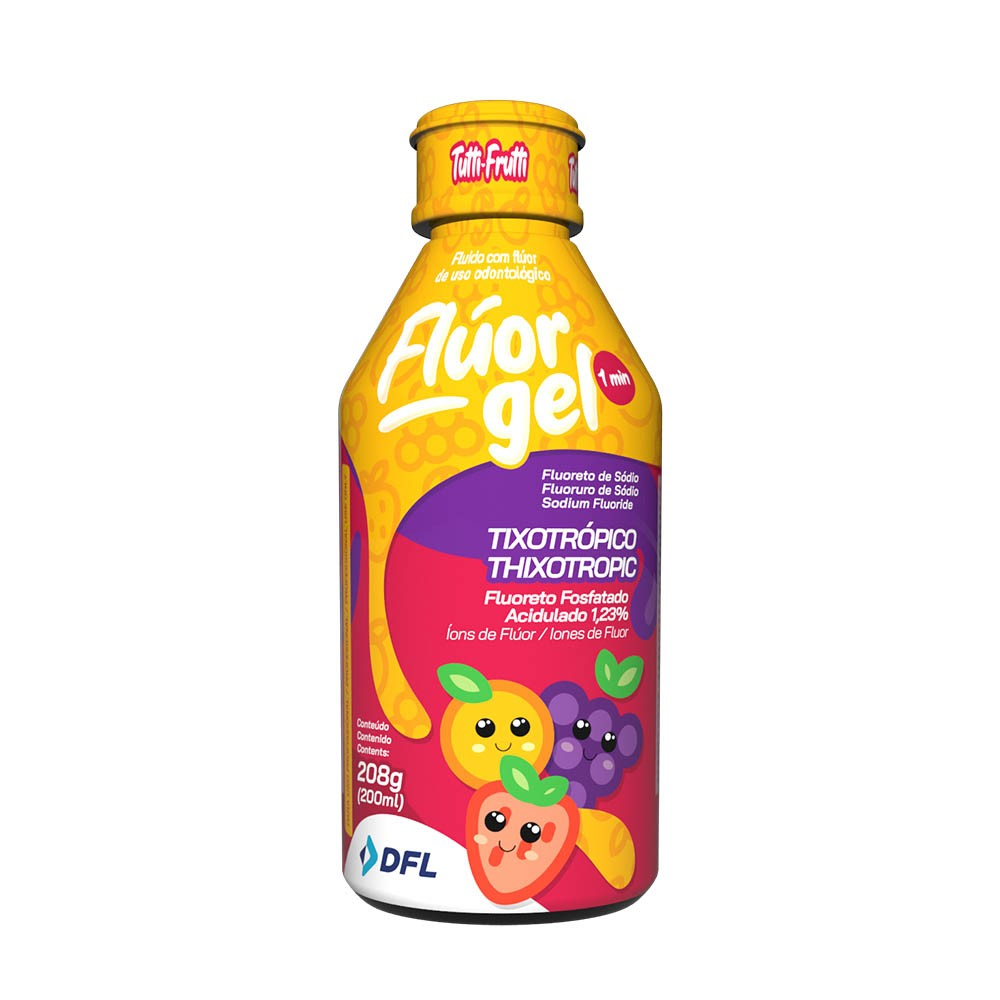 Foto 1 - Fluor gel acidulado DFL