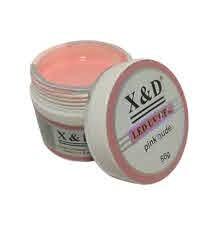 Foto 1 - Gel X&D Pink Nude 56g Alongamento Unhas De Gel Led Uv