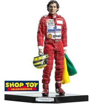 Ayrton Senna Scale 1/6 Live Legend Iron Studios Regular