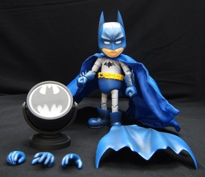 Foto1 - Batman DC Comics Hybrid Metal Figuration Batman (variante de cor) SDCC 2015 Exclusivo
