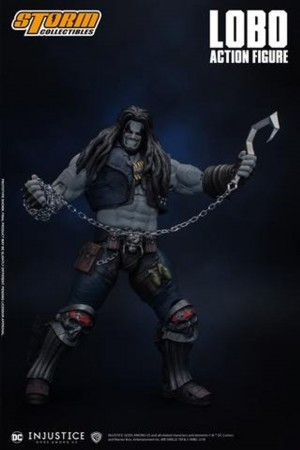 Foto7 - Boneco Lobo - Storm Collectibles - Dc Comics - Original