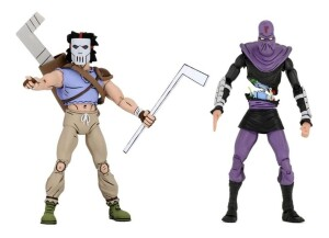 Foto4 - Casey Jones Vs. Foot Soldier Cartoon Tmnt 7´´ Scale Neca