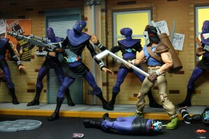Foto3 - Casey Jones Vs. Foot Soldier Cartoon Tmnt 7´´ Scale Neca