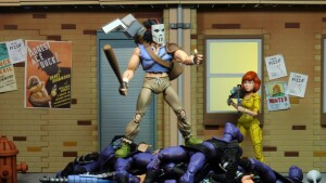 Foto5 - Casey Jones Vs. Foot Soldier Cartoon Tmnt 7´´ Scale Neca