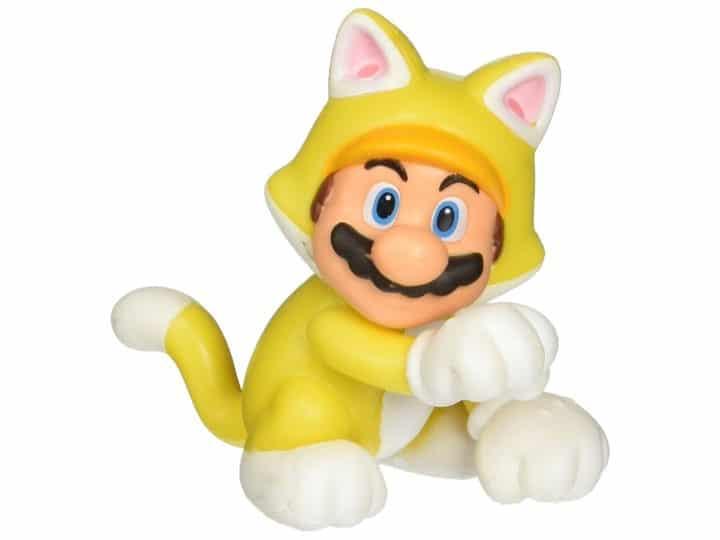 """Foto 1 - Cat Mario Figura de articulação limitada do World of Nintendo 2.50 """""""