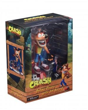 """Foto2 - Crash Bandicoot - Figura de ação em escala de 7 """"- Deluxe Crash com placa a jato"""