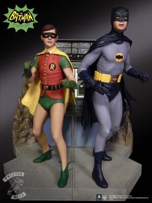 Foto3 - DC Comics Tweeterhead Batman 1966 Maquette Statue - edição limitada