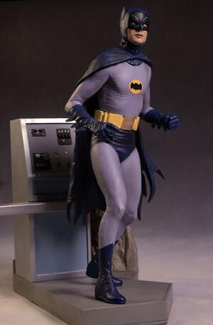 Foto1 - DC Comics Tweeterhead Batman 1966 Maquette Statue - edição limitada