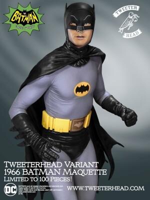 Foto6 - DC Comics Tweeterhead Batman 1966 Maquette Statue - edição limitada