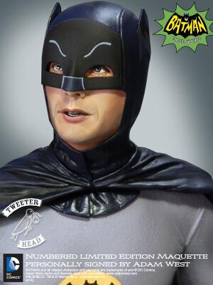 Foto5 - DC Comics Tweeterhead Batman 1966 Maquette Statue - edição limitada