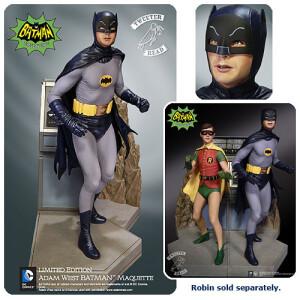 Foto4 - DC Comics Tweeterhead Batman 1966 Maquette Statue - edição limitada