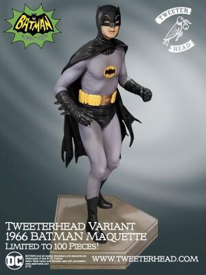 Foto2 - DC Comics Tweeterhead Batman 1966 Maquette Statue - edição limitada