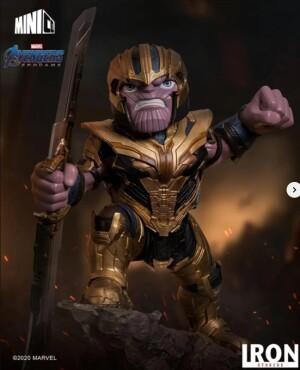 Foto3 - Estátua Thanos - Avengers: Endgame - Minico - Iron Studios