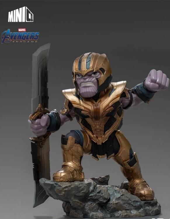 Foto 1 - Estátua Thanos - Avengers: Endgame - Minico - Iron Studios