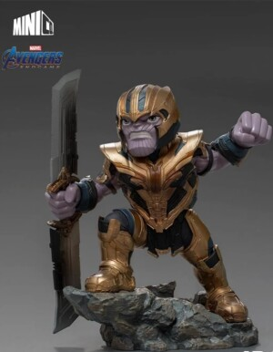 Estátua Thanos - Avengers: Endgame - Minico - Iron Studios