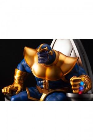Foto2 - Estátua Thanos on Space Throne - Fine Art Statue - Kotobukiya Marvel 1/6