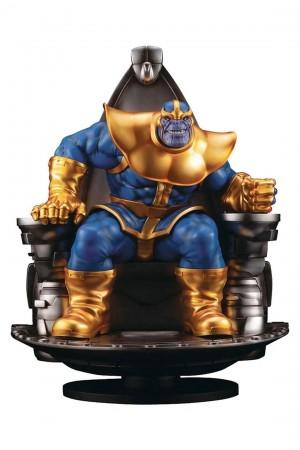 Foto1 - Estátua Thanos on Space Throne - Fine Art Statue - Kotobukiya Marvel 1/6