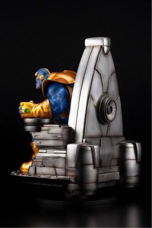 Foto3 - Estátua Thanos on Space Throne - Fine Art Statue - Kotobukiya Marvel 1/6