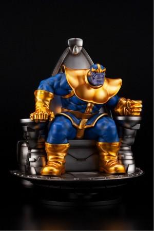 Foto5 - Estátua Thanos on Space Throne - Fine Art Statue - Kotobukiya Marvel 1/6