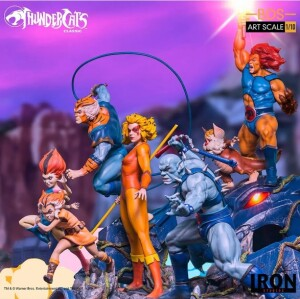 Foto4 - Estátua Wilykit & Wilykat - Thundercats -Bds Art Scale 1/10 - Iron Studios