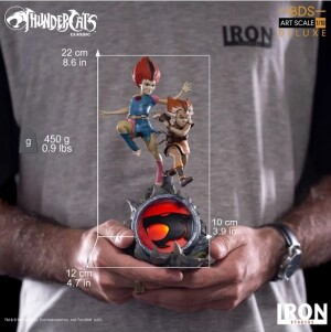 Foto2 - Estátua Wilykit & Wilykat - Thundercats -Bds Art Scale 1/10 - Iron Studios