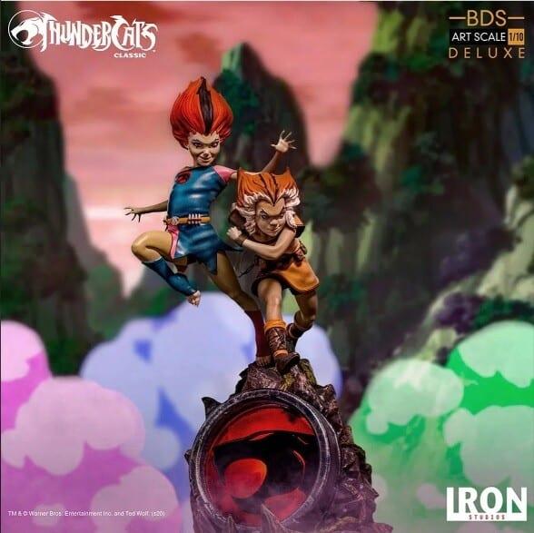 Foto 1 - Estátua Wilykit & Wilykat - Thundercats -Bds Art Scale 1/10 - Iron Studios