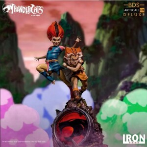 Estátua Wilykit & Wilykat - Thundercats -Bds Art Scale 1/10 - Iron Studios
