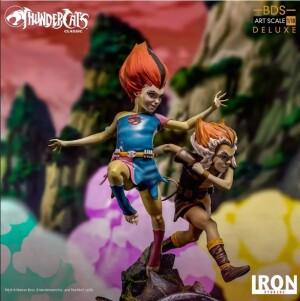 Foto3 - Estátua Wilykit & Wilykat - Thundercats -Bds Art Scale 1/10 - Iron Studios