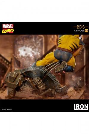 Foto5 - Estátua Wolverine - X-Men - BDS Art Scale 1/10 - Iron Studios