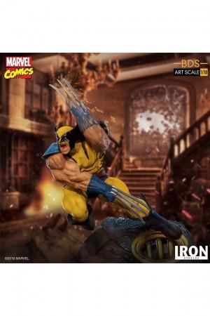 Foto4 - Estátua Wolverine - X-Men - BDS Art Scale 1/10 - Iron Studios