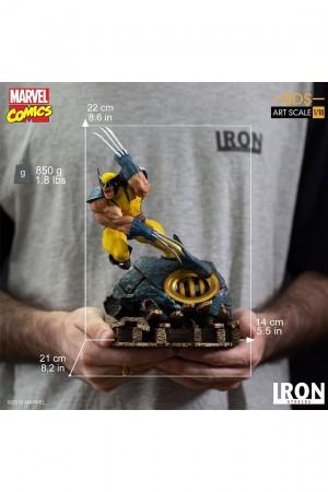 Foto3 - Estátua Wolverine - X-Men - BDS Art Scale 1/10 - Iron Studios