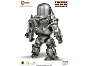 Foto2 - Iron Man Kids Nations DX03 Iron Monger LED fone de ouvido plugy evento exclusivo