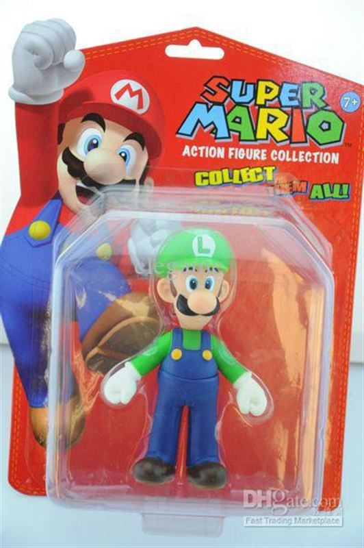 Foto 1 - Luigi Super Mario Action Figure Collector