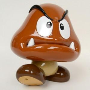 Foto1 - Mario: Goomba (Kuribo) ipod / iphone / ipad / MP3 / alto-falante para laptop