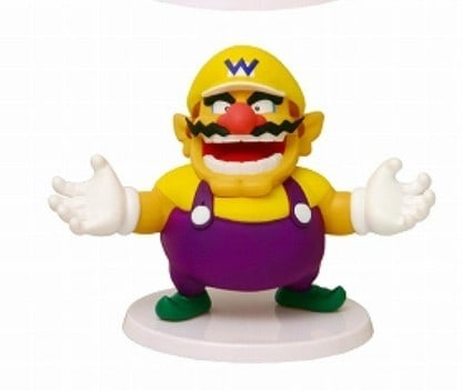 Foto 1 - Super Mario Standard Figure Vol 1 Wario Set 2 Figures