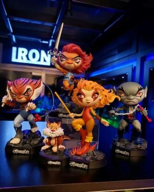 Thundercats Minico Set Completo 5 Personagens
