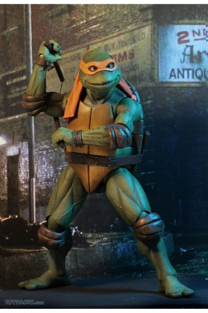 Foto3 - TMNT Movie (1990) - Neca Conjunto 04 Tartarugas