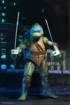 Foto1 - TMNT Movie (1990) - Neca Conjunto 04 Tartarugas