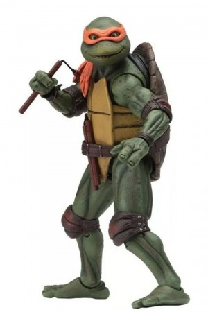 Foto5 - TMNT Movie (1990) - Neca Conjunto 04 Tartarugas