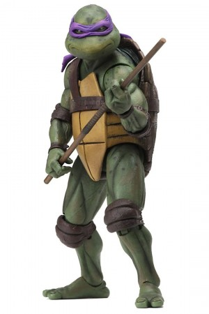 Foto7 - TMNT Movie (1990) - Neca Conjunto 04 Tartarugas