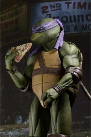 Foto2 - TMNT Movie (1990) - Neca Conjunto 04 Tartarugas