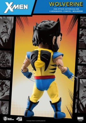Foto4 - X-Men Egg Attack Ação EAA-66SP Wolverine (Edição Especial) PX Previews Exclusive