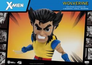 Foto7 - X-Men Egg Attack Ação EAA-66SP Wolverine (Edição Especial) PX Previews Exclusive