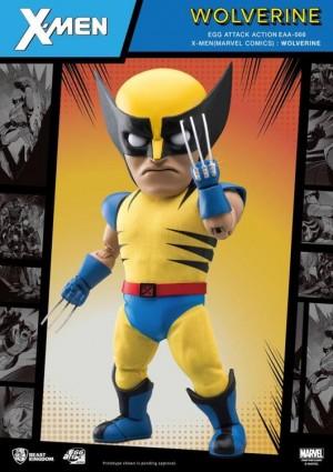 Foto6 - X-Men Egg Attack Ação EAA-66SP Wolverine (Edição Especial) PX Previews Exclusive